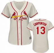 St. Louis Cardinals Matt Carpenter Women's Replica Ivory Alternate Baseball Jersey - On Clearance