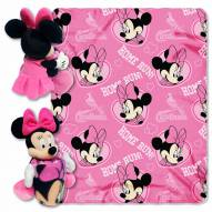 St. Louis Cardinals Minnie Mouse Throw Blanket
