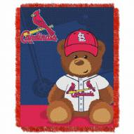 St. Louis Cardinals MLB Baby Blanket