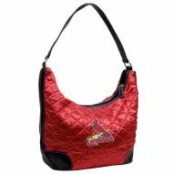 St. Louis Cardinals Quilted Hobo Handbag