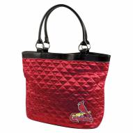 St. Louis Cardinals Quilted Tote Bag