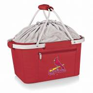 St. Louis Cardinals Red Metro Picnic Basket