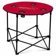 St. Louis Cardinals Round Folding Table