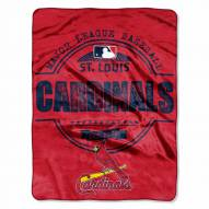 St. Louis Cardinals Triple Play Throw Blanket