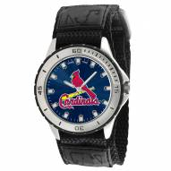 St. Louis Cardinals Veteran Velcro Mens Watch