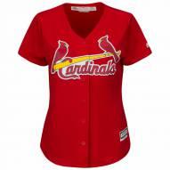 St. Louis Cardinals Women's Replica Scarlet Alternate Baseball Jersey
