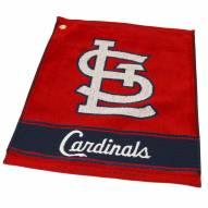St. Louis Cardinals Woven Golf Towel