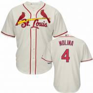 St. Louis Cardinals Yadier Molina Replica Ivory Alternate Baseball Jersey