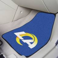 Los Angeles Rams 2-Piece Carpet Car Mats