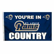 St. Louis Rams 3' x 5' Country Flag