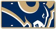 Los Angeles Rams Acrylic Mega License Plate