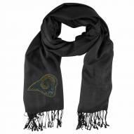 Los Angeles Rams Black Pashi Fan Scarf