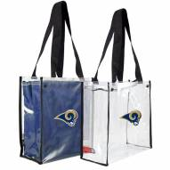 St. Louis Rams Convertible Clear Tote