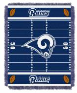 Los Angeles Rams Field Baby Blanket