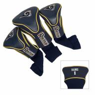 St. Louis Rams Golf Headcovers - 3 Pack