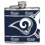 St. Louis Rams Hi-Def Stainless Steel Flask