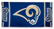 Los Angeles Rams McArthur Beach Towel