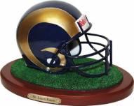 St. Louis Rams Replica Football Helmet Figurine