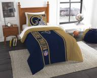 Los Angeles Rams Twin Comforter & Sham Set