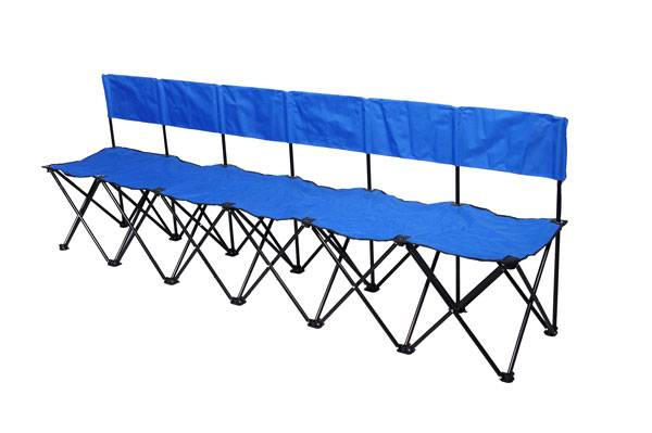 Bag A Bench 6 Seat Portable Sideline Soccer Bench