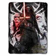 Star Wars First Order Micro Raschel Throw Blanket