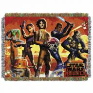 Star Wars Red Hot Rebels Throw Blanket