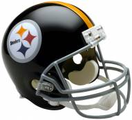 Riddell Pittsburgh Steelers 1963-76 Deluxe Replica Throwback NFL Football Helmet