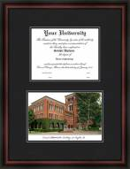 USC Trojans Diplomate Framed Lithograph with Diploma Opening