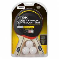 Stiga Performance 2-Player Ping Pong Paddle Set