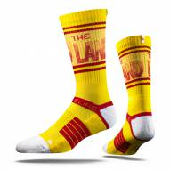 Strideline Cleveland Cavaliers The Land Yellow Strapped Adult Crew Socks