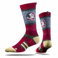 Strideline Florida State Seminoles Maroon Adult Crew Socks