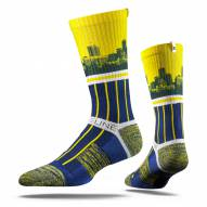 Strideline Indiana Pacers City View Adult Crew Socks
