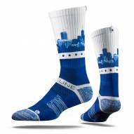 Strideline Indianapolis Colts City View Adult Crew Socks