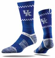 Strideline Kentucky Wildcats Blue Adult Crew Socks