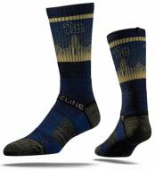 Strideline Pittsburgh Panthers Blue & Gold Adult Crew Socks
