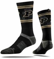 Strideline Purdue Boilermakers Adult Crew Socks