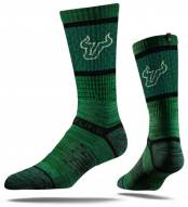 Strideline South Florida Bulls Green Adult Crew Socks