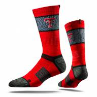 Strideline Texas Tech Red Raiders Red Adult Crew Socks