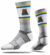 Strideline UCLA Bruins Grey Adult Crew Socks