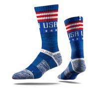 Strideline USA Liberty Adult Crew Socks