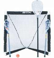 STX FiddleSTX 3 Player Lacrosse Game Set