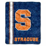 Syracuse Orange Jersey Sherpa Blanket