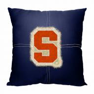 Syracuse Orange Letterman Pillow