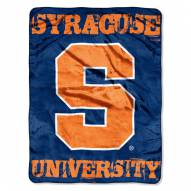 Syracuse Orange Micro Grunge Blanket