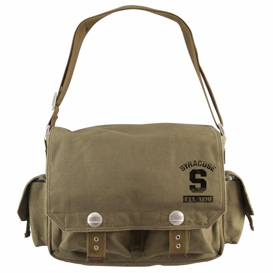 Syracuse Orange Olive Prospect Messenger Bag