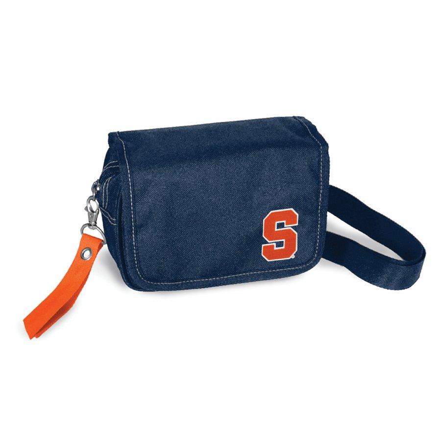 Syracuse Orange Ribbon Waist Pack Purse