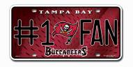 Tampa Bay Buccaneers #1 Fan License Plate