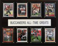 "Tampa Bay Buccaneers 12"" x 15"" All-Time Greats Plaque"