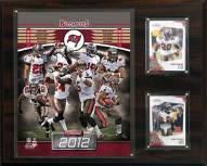 "Tampa Bay Buccaneers 12"" x 15"" Team Plaque"