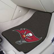 Tampa Bay Buccaneers 2-Piece Carpet Car Mats